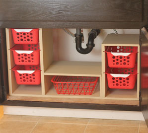 Slide Out Undercabinet Storage