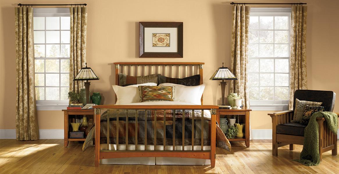 Estilo artesanal estilos inspiraciones pinturas behr for Arts and crafts bedroom ideas