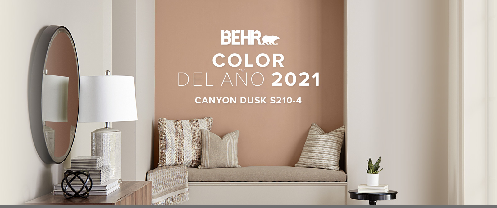 Image with the words 2020 Color Trends with all the color chips included in the color trends beneath