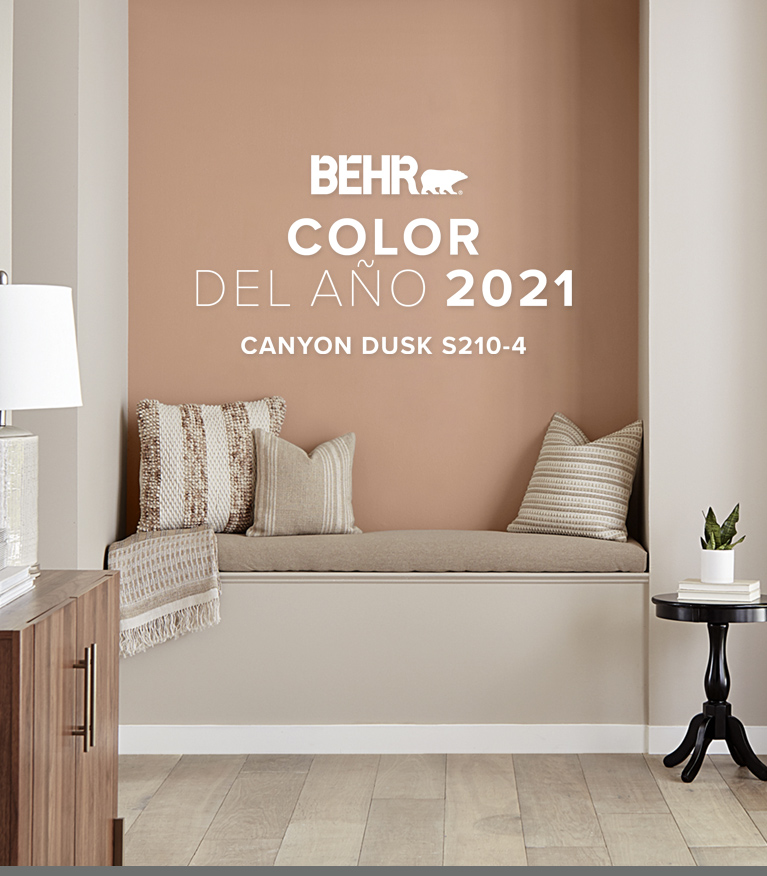 Mobile view of an image with the words 2020 Color Trends with all the color chips included in the color trends beneath