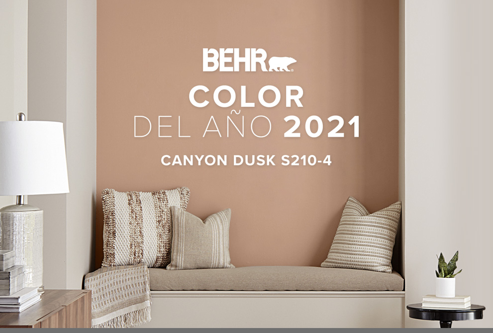 Tablet view of an image with the words 2020 Color Trends with all the color chips included in the color trends beneath